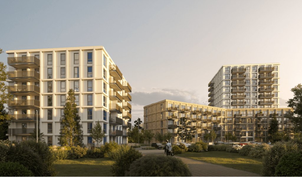 Nieuw Elan stemt in met 190 appartementen aan de Sacharovlaan