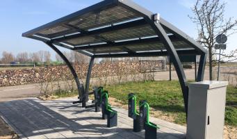 Proef met innovatieve e-bikestallingen ook in Alphen